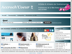 AccrochCoeur, annuaire du mariage