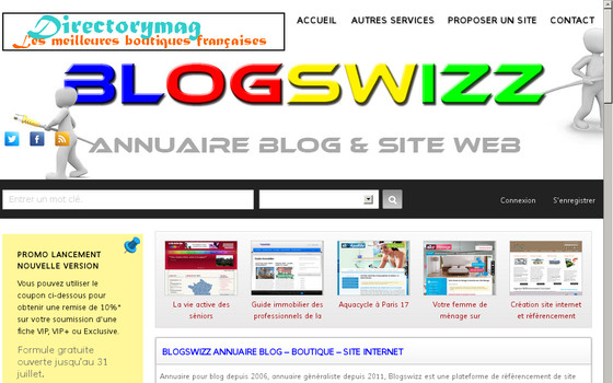 annuaire blog et site internet