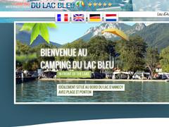 Camping Annecy, un 5 étoiles au bord du lac
