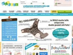 Couches lavables pas cher : Eco-Bebe