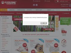 Flyerzone : Imprimerie en ligne