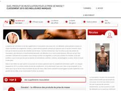 Comparateur produits de musculation