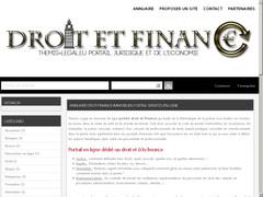 Annuaire droit, finance et immobilier