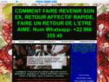 RETOUR AFFECTIF RAPIDE EFFICACE 72 H