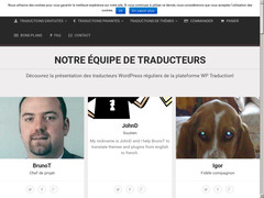 Service français de traduction WordPress